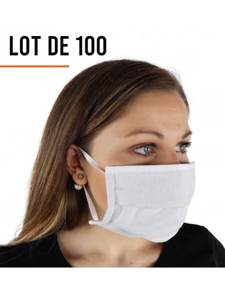 Masque de protection Grand public - Lot de 100