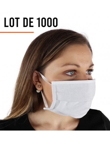 Masque de protection - Lot de 1000